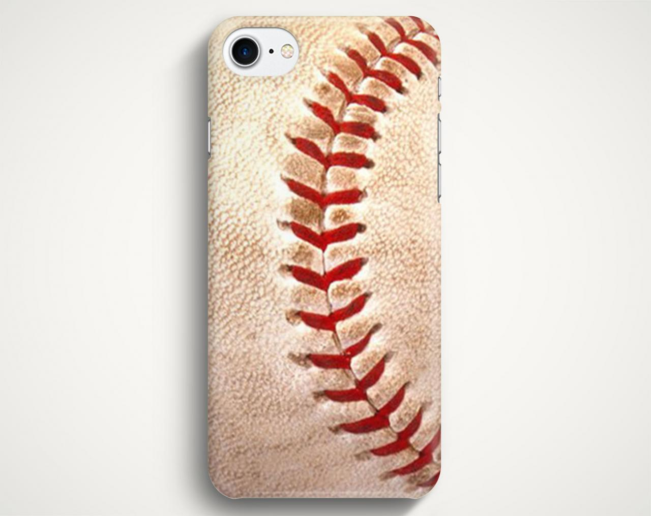 Baseball Case For iPhone 7 iPhone 7 Plus Samsung Galaxy S8 Galaxy S7 Galaxy A3 Galaxy A5 Galaxy A7 LG G6 LG G5 HTC 10