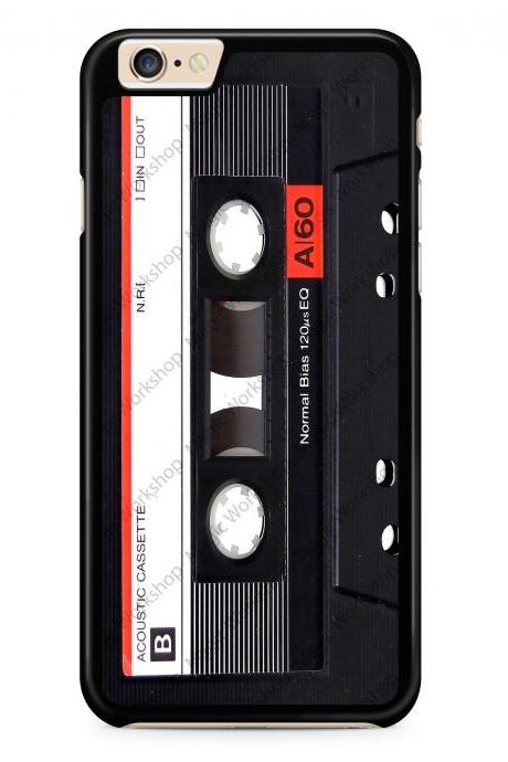 Audio Tape, Cassette Case for iPhone 4 4s 5 5s 5c 6 6 Plus 6s 6s Plus, Samsung Galaxy S3 S4 S5 S6 S6 Edge S7 S7 Edge LG G3, LG G4, HTC One M8, HTC One M9, Sony Xperia Z3