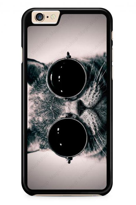 Cat With Sunglasses Case for iPhone 4 4s 5 5s 5c 6 6 Plus 6s 6s Plus, Samsung Galaxy S3 S4 S5 S6 S6 Edge S7 S7 Edge LG G3, LG G4, HTC One M8, HTC One M9, Sony Xperia Z3