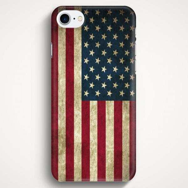 Flag Of USA Case For iPhone 7 iPhone 7 Plus Samsung Galaxy S8 Galaxy S7 Galaxy A3 Galaxy A5 Galaxy A7 LG G6 LG G5 HTC 10