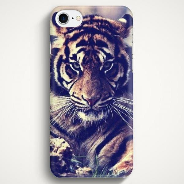 Tiger Case For iPhone 7 iPhone 7 Plus Samsung Galaxy S8 Galaxy S7 Galaxy A3 Galaxy A5 Galaxy A7 LG G6 LG G5 HTC 10
